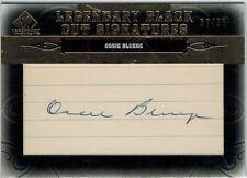 OSSIE BLUEGE  2011 SP Legendary Cuts Black Auto Autograph #ed 32/ 35