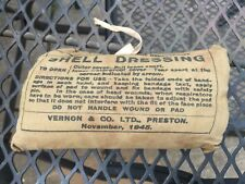 Original WW2 British Army Issue Shell Dressing Unused