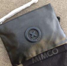 MIMCO SUPERNATURAL MATTE BLACK MEDIUM POUCH • AUTHENTIC RRP $99.95