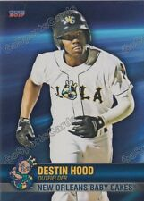 2017 New Orleans Baby Cakes Destin Hood RC Rookie Miami Marlins