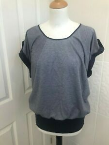 New Look - Navy and White Top 10
