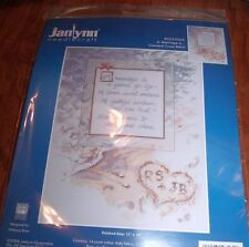 "Janlynn A MARRIAGE IS... Counted Cross Stitch Kit 11"" x 14"""