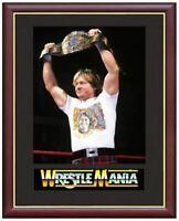 Rowdy Roddy Piper Wrestling Legend Mounted & Framed & Glazed Memorabilia