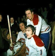 Jean Beliveau, Rogatien Vachon Montreal Canadiens Unsigned 8x10 Photo