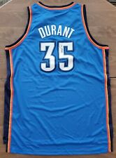 Kevin Durant Signed Oklahoma City Thunder Authentic Jersey NBA Swingman OKC RAD