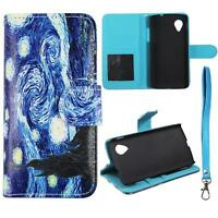 Case for LG Google Nexus 5 D820 Leather Wallet Pouch Flip Cover ID Card Pocket