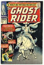 Ghost Rider #1 Marvel Comics 1967 Origin & 1st app Carter Slade Ayers (j#6466)