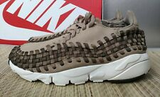 Nike Khaki Air Footscape woven men's trainers size 6UK