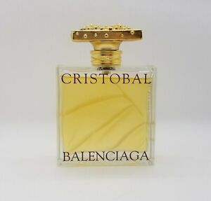 Cristobal Balenciaga Eau de Toilette Perfume 3.3 oz Rare Vintage Fragrance