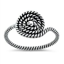 Sterling Silver Rope Ring - Free Gift Packaging