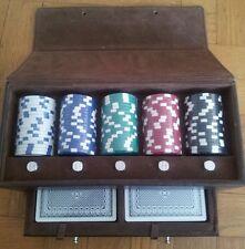 Mallette poker cuir chevignon set leather