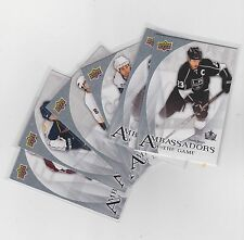 10-11 2010-11 UPPER DECK AMBASSADORS OF THE GAME FINISH YOUR SET LOW SHIPPING