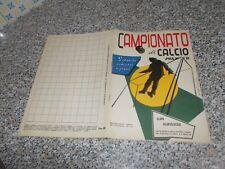 ALBUM CALCIATORI CAMPIONATO DI CALCIO 1957 1958 SPORT NAPOLI COMPLETO ORIGINALE