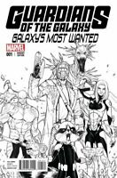 Guardians of the Galaxy: Galaxy's Most Wanted #1 Sara Pichelli 1:25 Variant