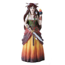Celtic Goddess Brigid Figurine Statue Brigid Ashwood pagan druid witch wicca
