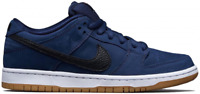 New Deadstock Men's Nike SB Dunk Low Midnight Navy Black Gum 8 UK 9 US in Hand