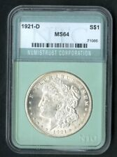 US Coin 1921 D Morgan Silver Dollar NO RESERVE!