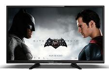 Schwarze Fernseher mit 720p max. Auflösung und inklusive Fernbedienung