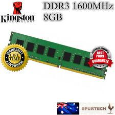 New Kingston 8GB 1600 Mhz DDR3 Desktop RAM Memory PC3-12800 8G DIMM