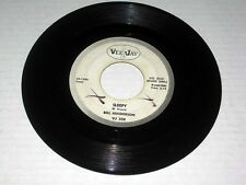 45 RPM Bill Henderson SLEEPY/IT NEVER ENTERED MY MIND Vee-Jay PROMO