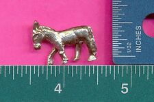 12 wholesale lead free pewter donkey figurines A1059
