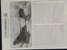 1/48ème NOTICE DE MONTAGE ESCI VOUGHT A-7E CORSAIR II  /  ESCI référence 4014