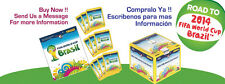 Panini World Cup Brazil 2014 Box of 50's Plus Free Album