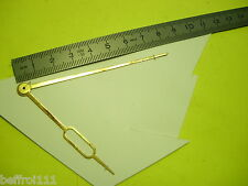 Aiguilles pendulette horloge ancienne,pendule Uhr clock aiguille 80 x 63  n28