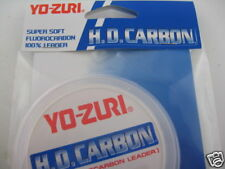 Yo-Zuri Pink 100% Fluorocarbon Leader Line 30yd 15lb Walleye Bass HD15LB-DP