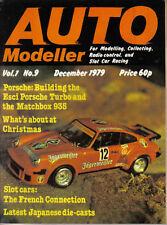 Auto Modeller Vol 1 No 9 Dec 1979 Jouef Circuit 24 Porsche 934 & 935 Dennis MGB