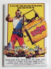 D.C. Cab FRIDGE MAGNET (2 x 3 inches) movie poster taxi mr. t mister dc