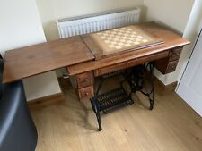 More details for jones (not singer) treadle sewing machine table