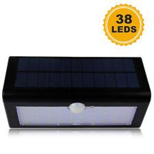 38 LEDs Large PIR Motion Sensor Solar Power Wall Light Outdoor Lamp Waterproof