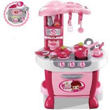 Cucina giocattolo per bambine con luci e suoni gioco 31 pezzi accessori inclusi