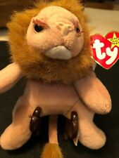 Roary Ty Beanie Baby lion 1996 With Multiple Errors