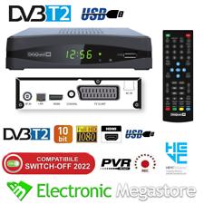 DECODER DIGITALE TERRESTRE DVB-T2/HEVC IN HD CON USB PVR E TIME SHIFT 2021