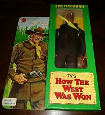 ZEB MACAHAN HOW THE WEST WAS WON MATTEL VINTAGE 1978 BRAND NEW IN THE BOX
