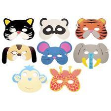 10PCS Assorted EVA Foam Animal Masks for Kids Birthday Party Christmas Xmas Gift