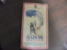"""USED VHS Movie  """"The The Adventures Of Baron Munchausen"""""""
