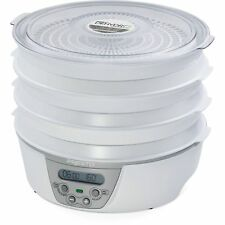 Presto 06301 Dehydro Digital Electric Food Dehydrator White BRAND NEW