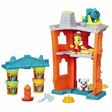 Playdoh Town Firehouse Ages 3+ New Toy Boys Girls Hasbro Fire truck Play Doh Fun