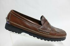 COLE HAAN Leather Brown Sz 10.5 D Men Penny Loafers