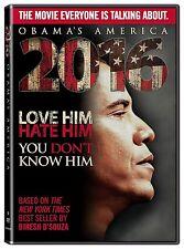 2016: Obama's America - Dinesh D'Souza (DVD, 2012, Documentary) - Brand New!!