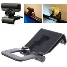 TV Monitor Clip Mount Holder Stand For Sony PlayStation 3 PS3 Move Eye Camera US