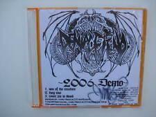 Winter Sale! Tim Vigil Signed Denial Fiend Rare 2006 Demo Faust