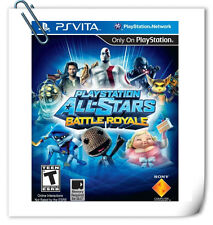 PSV PLAYSTATION ALL-STARS BATTLE ROYALE SONY VITA Fighting Games SCE
