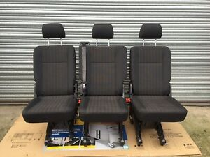 Vw Transporter T5 Or T6 New Rear Single 1+1+1 Kombi Seats In Pandu Trim ISOFIX