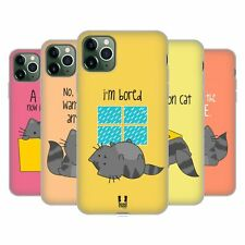 HEAD CASE DESIGNS WILBUR THE CAT SOFT GEL CASE FOR APPLE iPHONE PHONES