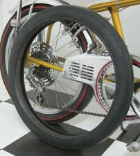 """Slick TIRE  - Black Wall 20 x 2.125"""" Duro for Banana Seat Muscle Bikes *see desc"""