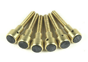 JLD Bridge Doctor Brass Pin Kit(Black Inlays)